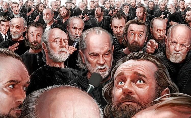 George Carlin Reading His Book - Brain Droppings