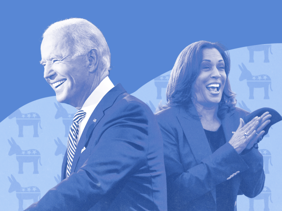 Biden and Harris 2020